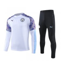 19-20 Manchester City White Zebra Training Suit