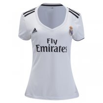 2018-19 Real Madrid Home Women Soccer Jersey Shirt