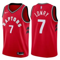 Toronto Raptors Kyle Lowry 2017-18 Icon Red Jersey