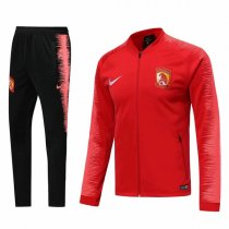 19-20 Guangzhou Evergrande F.C Red Sleeve Vest Tracksuit