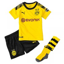 19-20 Borussia Dortmund Home Kids Full Kit