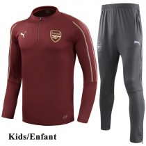 Kids 1819 Arsenal Red Tracksuit
