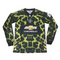 1819 Manchester United Long Sleeve EA Sport 4TH Jersey