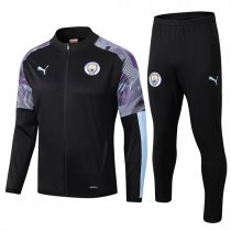 19-20 Manchester City Black Zebra Sleeve Jacket Kit
