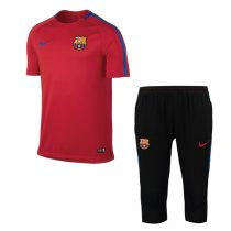 1718 Barcelona Squad Training Kit Red (shirt + short)