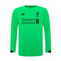 19-20 Liverpool Away Green Long Sleeve Goalkeeper Jersey Shirt