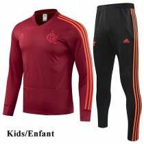 Kids 1819 CR Flamengo Red Tracksuit