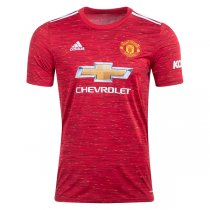 20-21 Manchester United Home Soccer Jersey Shirt