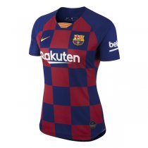 19-20 Barcelona Home Women Soccer Jersey Shirt
