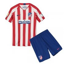 19-20 Atlético de Madrid Home Jersey Kids Kit