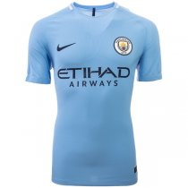 Manchester City 17/18 Home Authentic Jersey (Player Version)