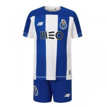 19-20 Porto Home Soccer Jersey Shirt Kids Kit