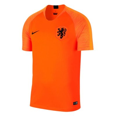 2018 Holland Home Soccer Jersey Shirt
