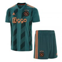 19-20 Ajax Away Soccer Jersey Men Kit(Shirt+Short)
