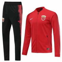 19-20 Shanghai SIPG Football Club Red Vest Tracksuit