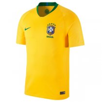 2018 Brazil Home Yellow Wordl Cup Soccer jersey