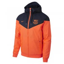1819 Barcelona Orange Authentic Windrunner Jacket