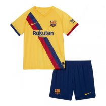 19-20 Barcelona Away Soccer Jersey Kids Kit