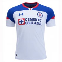 1819 Cruz Azul Away White Soccer Jersey Shirt