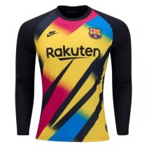 19-20 Barcelona Third Long Sleeve Goalkeeper Jersey Shirt