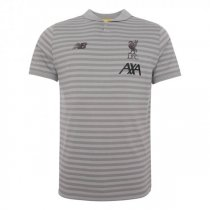 19-20 Liverpool Travel Polo Shirt Grey