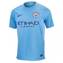 Manchester City 17/18 Home Soccer Jersey Shirt