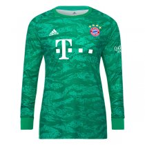 19-20 FC Bayern Munich Goalkeeper Long Sleeve Green Jersey
