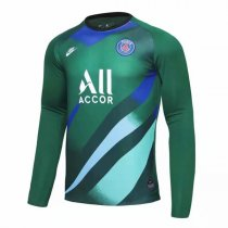 19-20 PSG Goalkeeper Green Long Sleeve Soccer Jersey Shirt