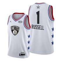 Brooklyn Nets D'Angelo Russell White 2019 All-Star Jersey