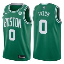 2017-2018 Boston Celtics Jayson Tatum Icon Green Jersey