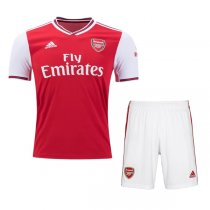 19-20 Arsenal Home Soccer Jersey Shirt Men Kit(Shirt+Short)