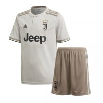 1819 Juventus Away Kid Jersey Kit