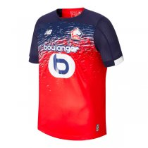 19-20 Lille Home Red Soccer Jersey Shirt