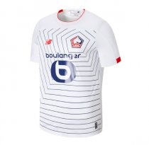 19-20 Lille Third White Soccer Jersey Shirt