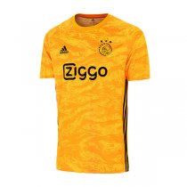 19-20 Ajax Goalkeeper Yellow Soccer Jersey Shirt