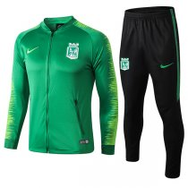 1819 Atletico Nacional Green Training Jacket Kit