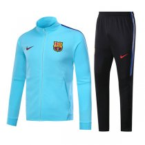 17-18 Barcelona Sky Blue Training Kit(Jacket+Trouser)