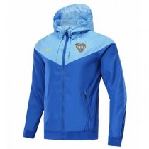 1819 Boca Juniors Authentic Blue Vest Windrunner