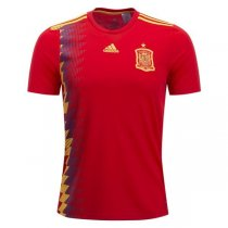 2018 Spain Home Soccer Jersey Shirt