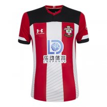 19-20 Southampton Home Red&White Soccer Jersey Shirt