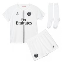 1819 PSG Jordan Third Away White Kids Full Kit