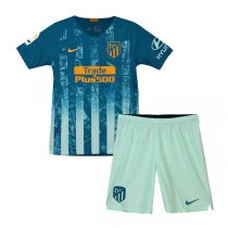 2018-19 Atletico Madrid Third Kids Kit