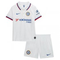 19-20 Chelsea Away Soccer Jersey Kids Kit