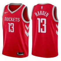 2017-18 Rockets James Harden Icon Red Jersey