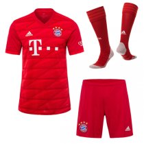 19-20 FC Bayern Munich Home Jersey Men's Full Kit(Shirt+Short+Socks)