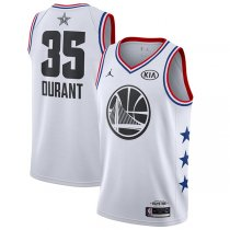 Golden State Warriors Kevin Durant 2019 All-Star Jersey White