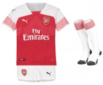 1819 Arsenal Home Kids Jersey Full Kit