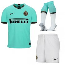 19-20 Intel Milan Away Soccer Jersey Men Full Kit