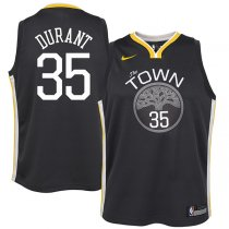 Golden State Warriors Kevin Durant Black Swingman Jersey