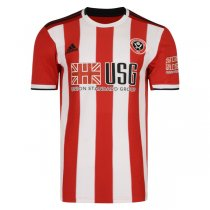 19-20 Sheffield United Home Soccer Jersey Shirt